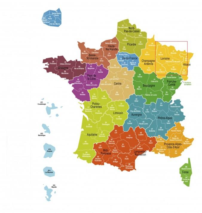 Carte France 13 Regions_cartouche