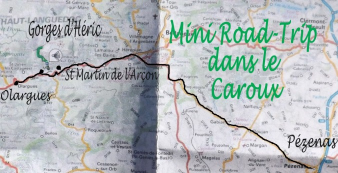 carte mini road trip