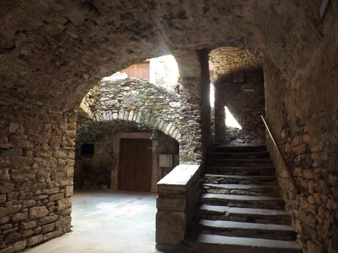 escalier musée