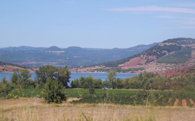 le lac vu d'en haut