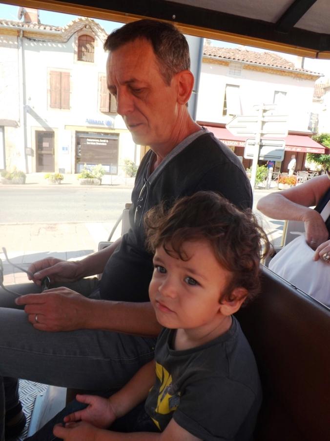 Matthieu et Fred petit train