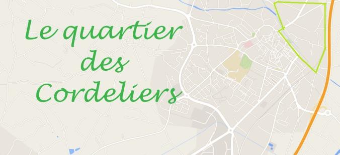 plan quartier des cordeliers