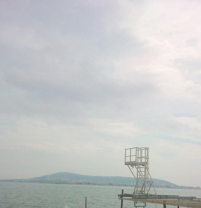 Sète vue du bateau