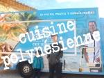 franck et Matthieu devant le food-truck de chef Teheiura