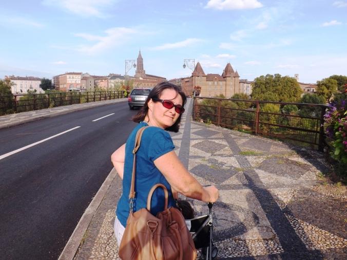 isa sur le pont