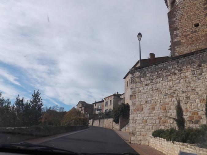 l'arrivée sur Castelnau de Montmiral 2