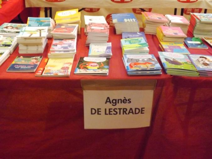 livres Agnès de Lestrade