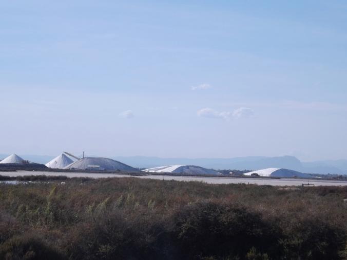 montagnes de sels au loin