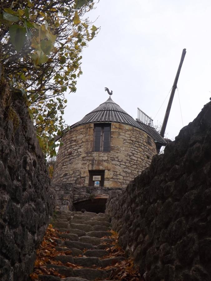 moulin vu des escaliers