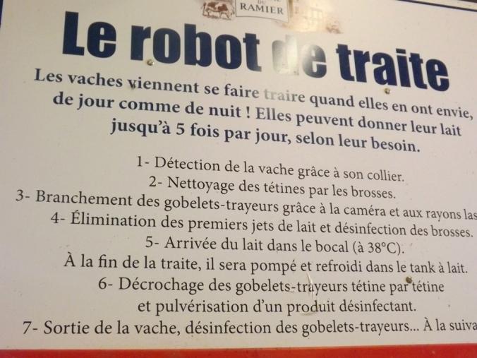 panneau robot