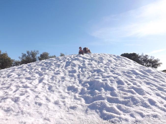petite colline de sel