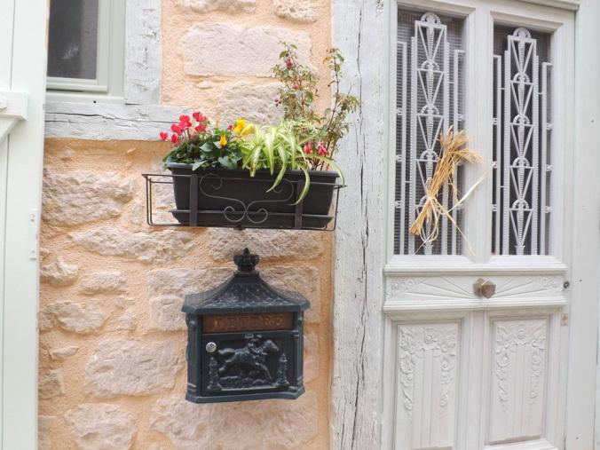 porte et plantes