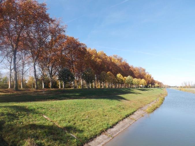 canal latéral et canal de Garonne à Montech