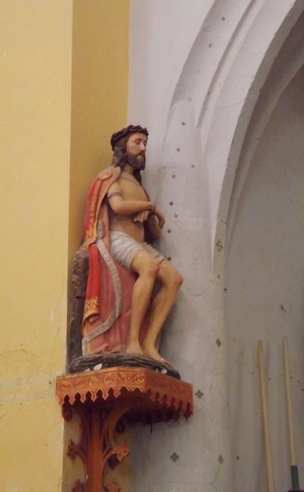Christ église notre dame de l'assomption castenau de montmiral