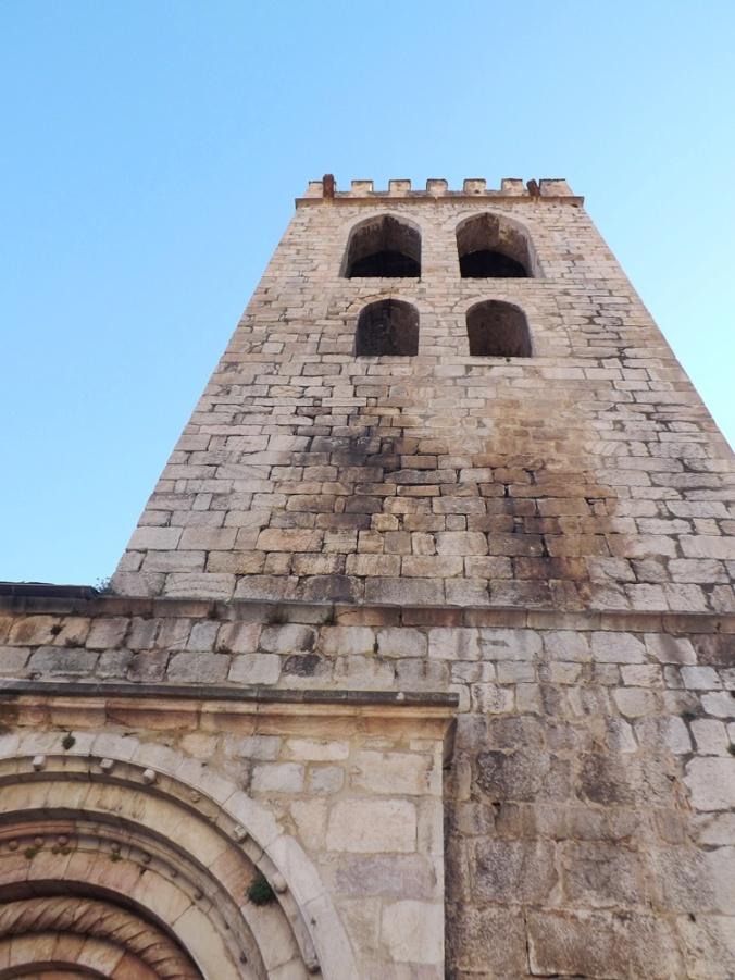 clocher de l'eglise de villefranche de conflent