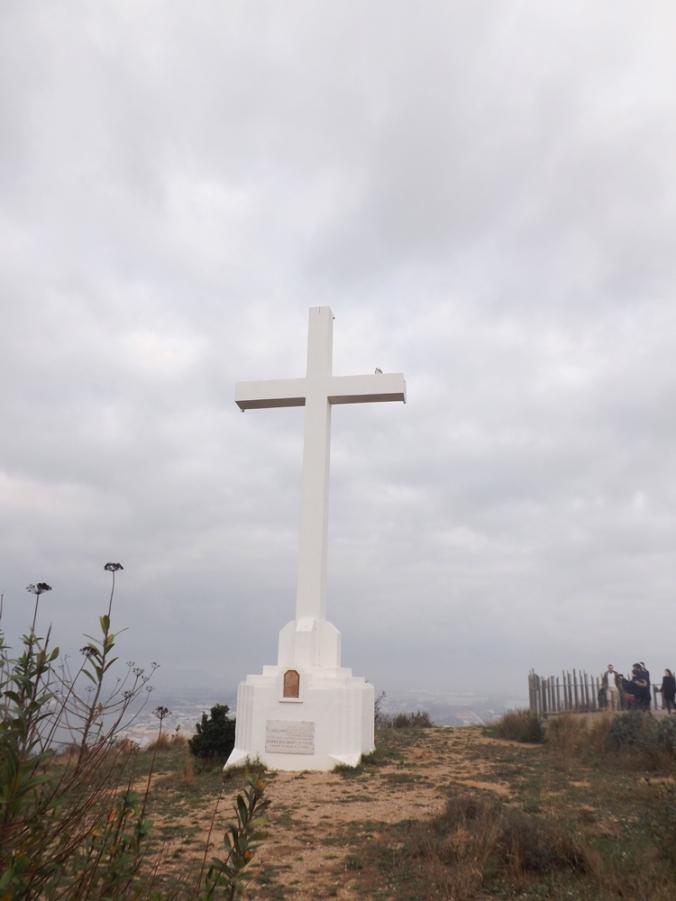 croix au sommet du mont st clair a sete