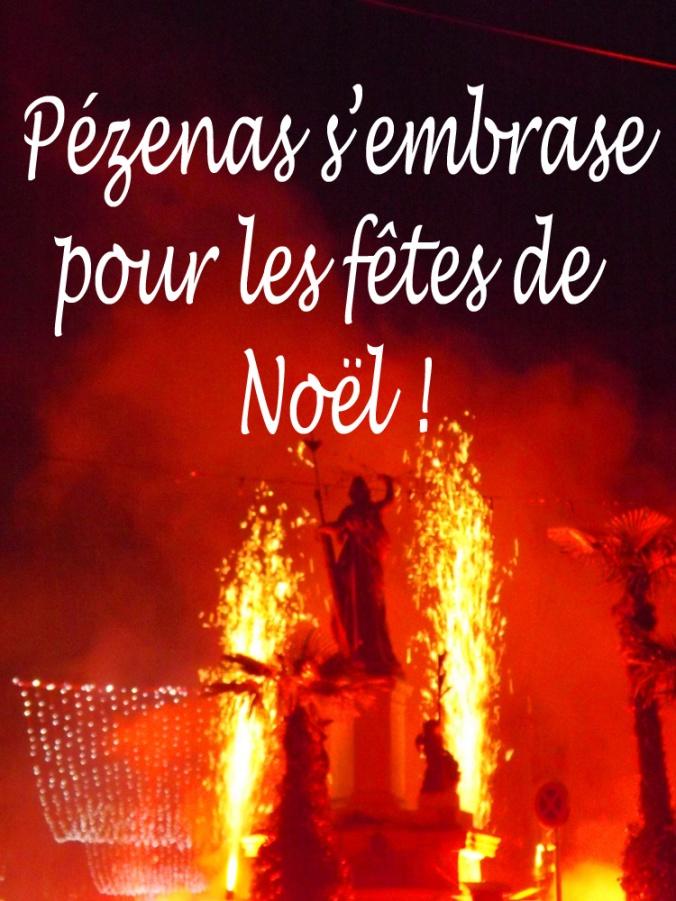 embrasement de la Marianne pezenas nadal 2015 - Copie