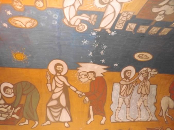fresques interieures notre dame de la salette a sete