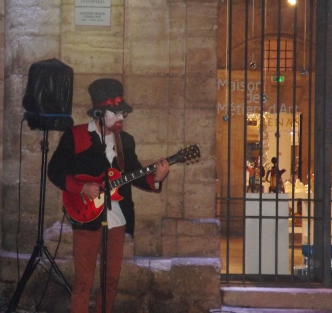 guitariste spectacle alice pezenas