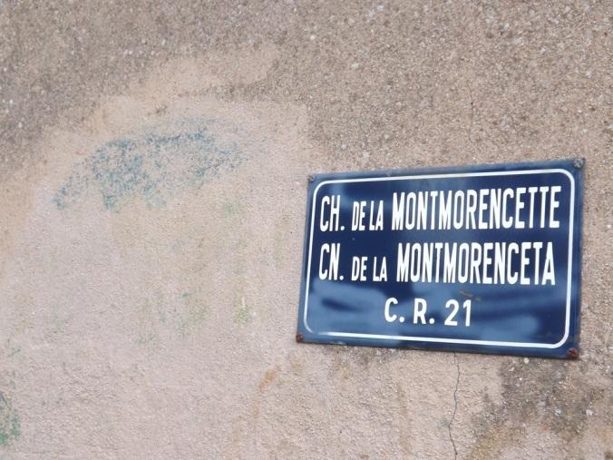 panneau de rueancien nom de la ville de sete