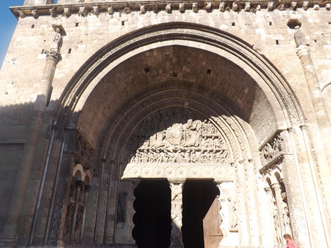 portail de l'abbaye st pierre de moissac