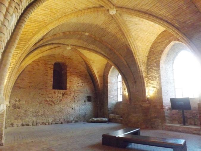 salle capitulaire cloitre abbaye st pierre de moissac
