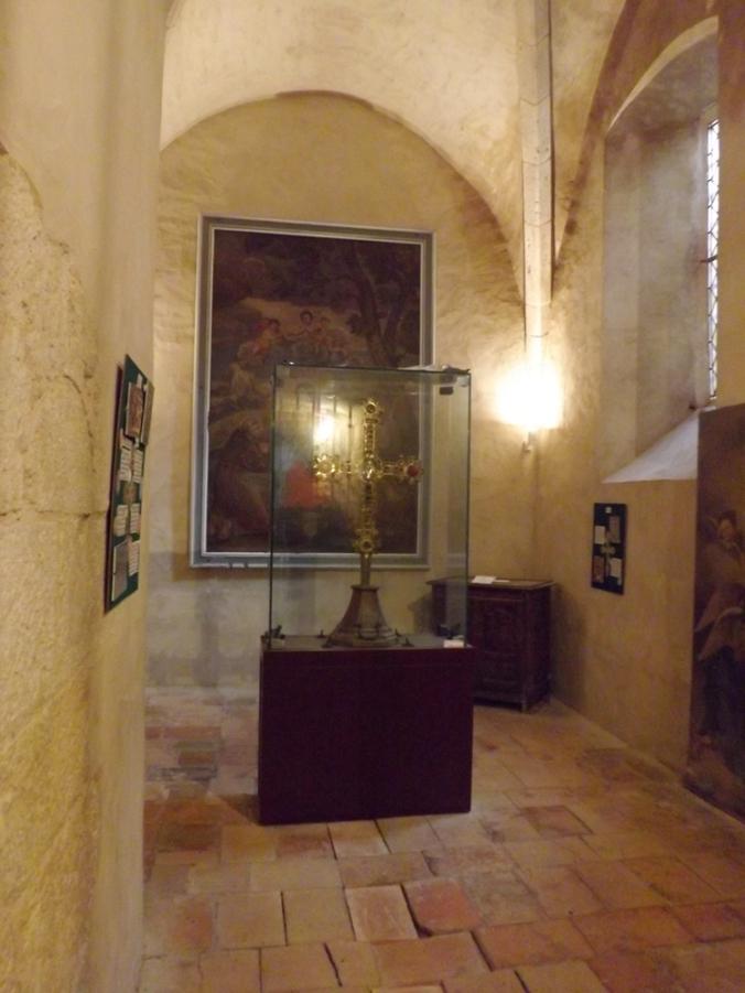 salle du trésor église notre dame de l'assomption à castenau de montmiral