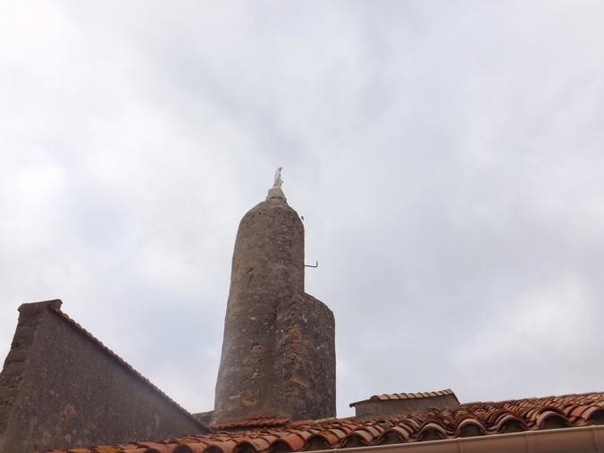 statue ND de la Salette Sete