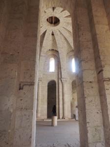 une partie de la salle haute de l'abbaye st pierre a moissac