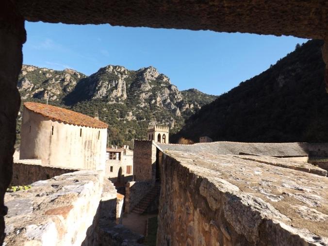 vue depuis les fortifications de villefranche de conflent