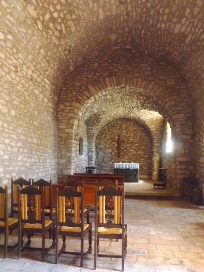eglise de Celles au Salagou