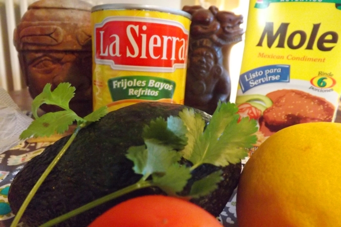 ingredients cuisine mexicaine