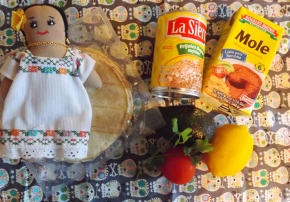 ingredients repas mexicain