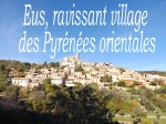 la vue sur le village d'Eus depuis la route - Copie