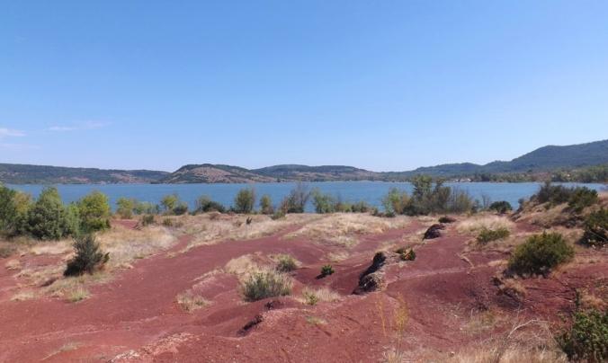 le lac vu d'en bas