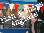 Mr Fish and chips food truck anglais