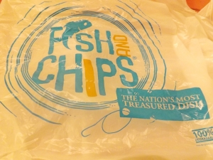 sachet plastique mr fish and chips