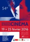 affiche 54eme rencontre cinema