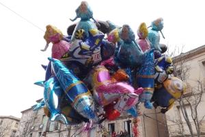 ballons helium carnaval 2016 Pezenas