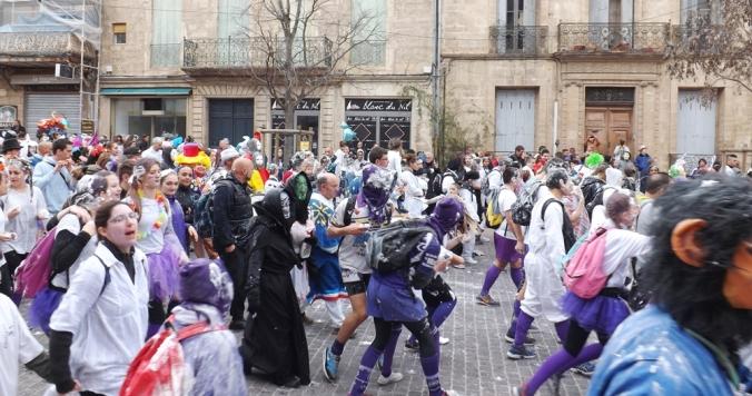 carnaval pezenas 2016 sur le Cours Jean Jaures
