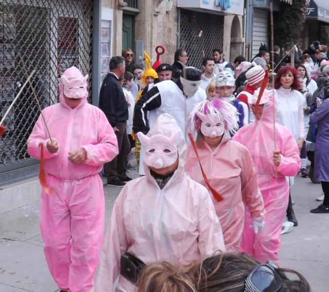 cochons deguisements pezenas carnaval 2016