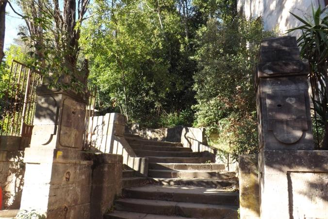 escaliers de villeneuvette