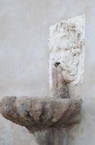 fontaine du buffet d'eau de Villeneuvette
