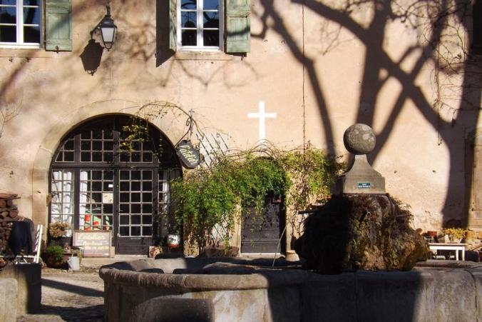 place louis XIV Villeneuvette
