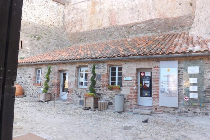 accueil chateau royal de collioure