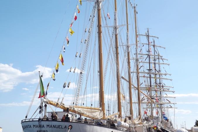 armada grands voiliers escale a sete