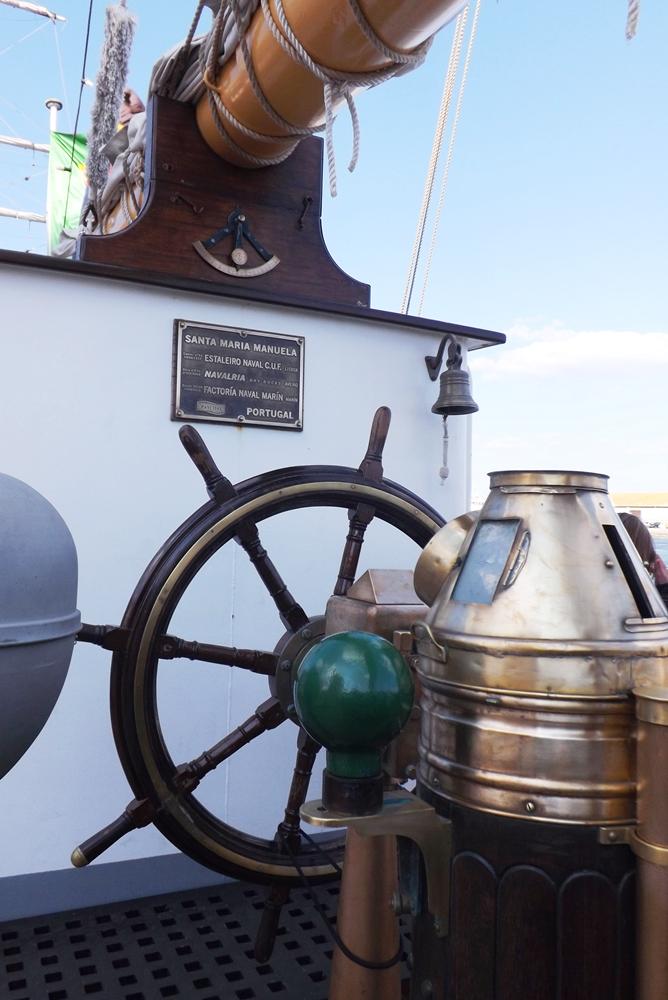 barre et instruments de mesure du santa maria manuela