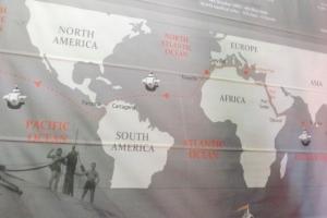 carte tour du monde nao victoria