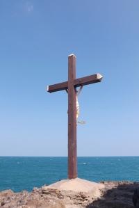 Christ en croix chapelle st Vincent de Collioure