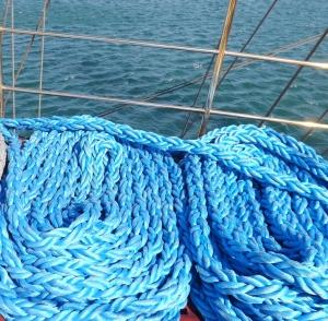 cordages bleu voilier polonais